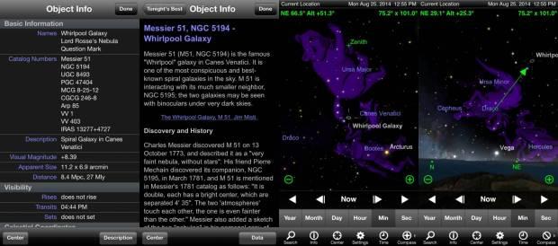 La bussola 620x274 Skysafari: guardare le stelle con laiuto di iPhone