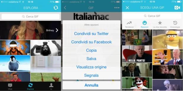 Relay GIF Messenger 620x310 Le migliori 5 app che non devono mancare nelliPhone degli appassionati di Gif