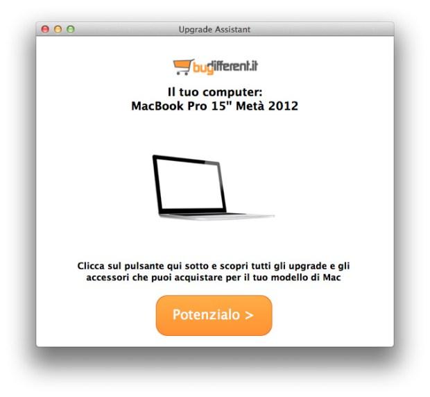 Schermata app buydifferen 620x572 Potenzia il tuo Mac con 1 click con la nuova App di BuyDifferent