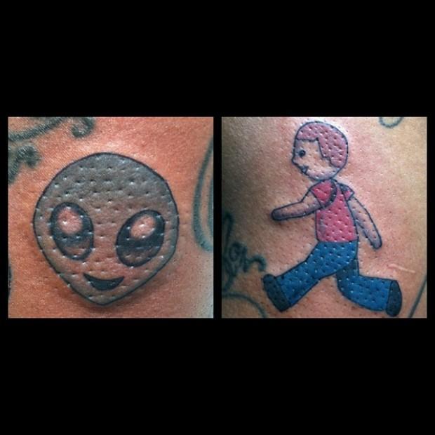 Tattoo Emoji 620x620 Ecco 15 tatuaggi di Emoji che vi lasceranno senza parole