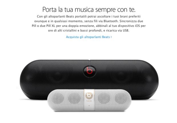 beatsapple1 620x430 LAzienda di Cupertino ha aggiunto una nuova sezione nellApple Store Online dedicata esclusivamente ai prodotti Beats