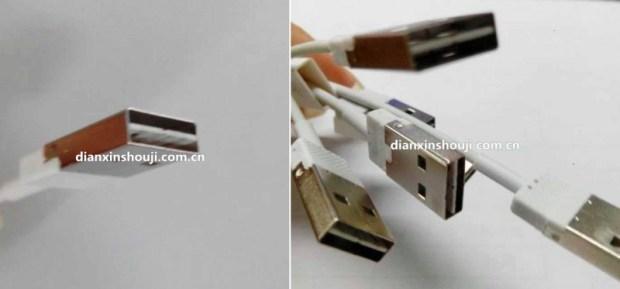 reversible lightning  620x289 [Rumors] Nuove immagini del possibile nuovo cavo Lightning, dotato di connettore USB reversibile