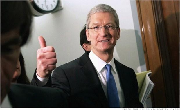 tim cook 620x380 Apple nella classifica di Fortune che include le migliori 100 aziende che registrano una rapida crescita in termini di fatturato