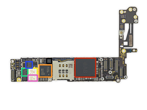 iphone24 [immagini + Video ] iFixit: iPhone 6 in tutto il suo splendore