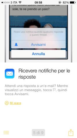 """suggerimentiapple5 620x1100 """"Suggerimenti"""", la nuova App integrata in iOS 8"""