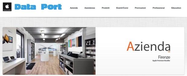Dataport 620x253 Apple store nel centro di Firenze entro il 2014 (?)