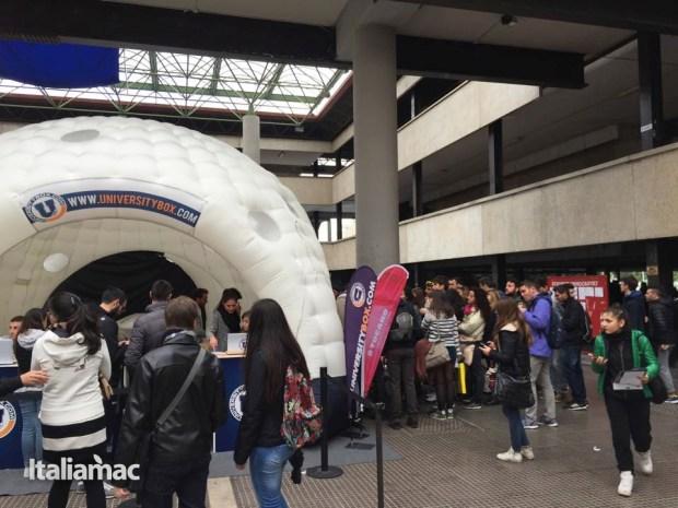 University Box Tucano politecnico bari 1 620x465 Foto: Italiamac partecipa al Tour University Box di Tucano