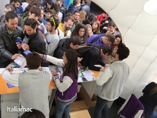 University Box Tucano politecnico bari 10 620x464 Foto: Italiamac partecipa al Tour University Box di Tucano