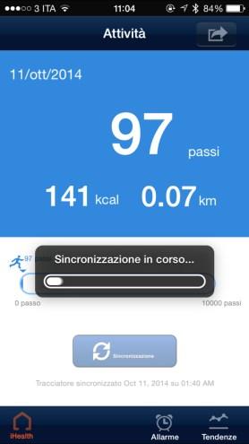 iHealth13 620x1102 Recensione: Activity Tracker iHealth: dispositivo per il monitoraggio dellattività fisica e del sonno (foto e video)
