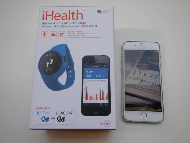ihealth001 620x465 Recensione: Activity Tracker iHealth: dispositivo per il monitoraggio dellattività fisica e del sonno (foto e video)