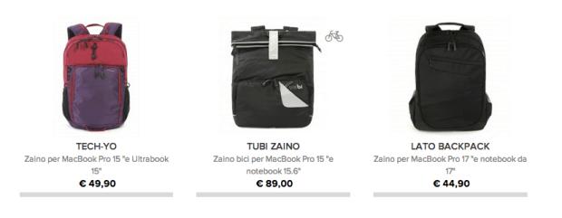 tucano1 620x241 Tucano presenta la nuova collezione, Livello Up, zaino per MacBook Pro 15 e Ultrabook 15