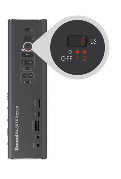 CREATIVE1 Creative Sound Blaster Roar: Speaker portatile wireless Bluetooth compatto, con NFC