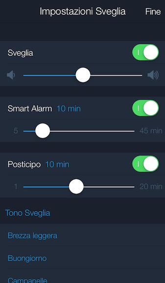 IMG 3412 e1416068677411 Sleep Better: Lapp per monitorare il sonno gratis su App Store