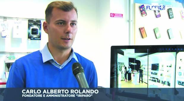 iRiparo Rai 3 Rolando 620x342 iRiparo: nuovo sito, servizio su Rai 3 e nuove coperture a Roma