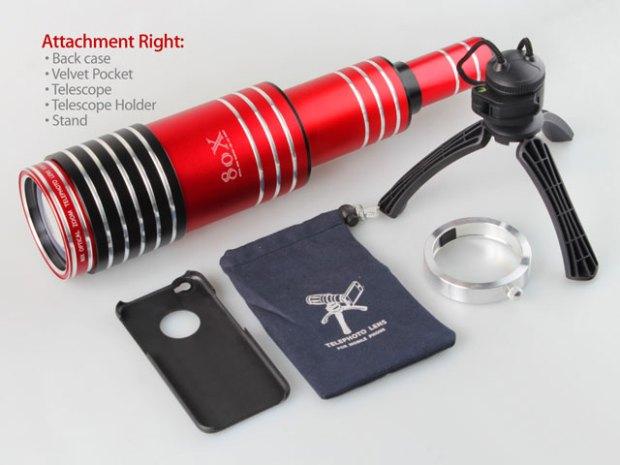 Foto 17 12 14 21 47 18 620x465 Recensione: iPhone 6 Super Spy Ultra High Power Zoom 80X telescopio con treppiede