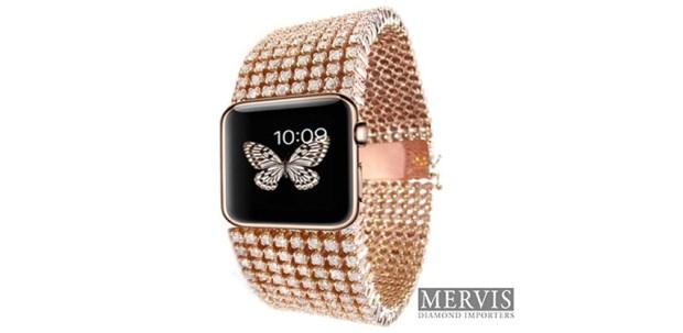 applewatch 620x303 Apple Watch, il modello in diamanti da 30.000 dollari