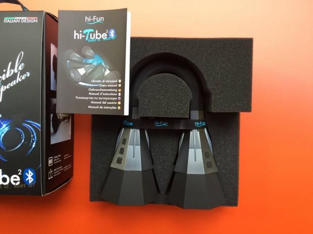 hi Tube4 620x464 hi Fun presenta hi Tube², uno speaker flessibile Bluetooth