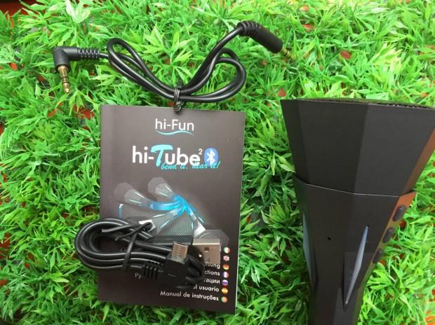 hi Tube5 620x464 hi Fun presenta hi Tube², uno speaker flessibile Bluetooth