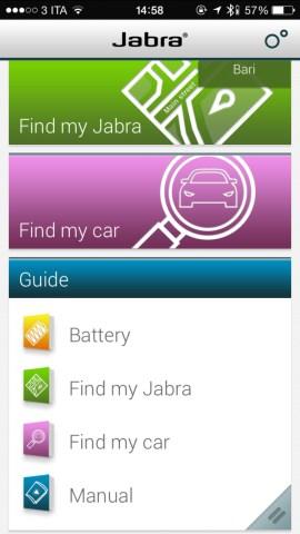 jabraApp2 620x1102 Jabra Stealth, comodo auricolare con tecnologia Bluetooth 4.0, che offre chiamate nitide con audio in alta definizione, mostrato nel corso dell IFA 2014