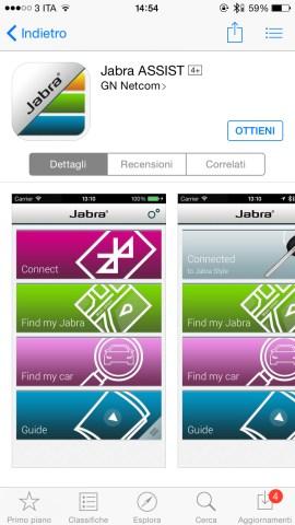 jabraAssist 620x1102 Jabra Stealth, comodo auricolare con tecnologia Bluetooth 4.0, che offre chiamate nitide con audio in alta definizione, mostrato nel corso dell IFA 2014