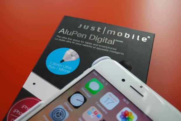 AluPen 620x413 Just Mobile AluPen Digital: la stilo ultra fine per iPhone e iPad