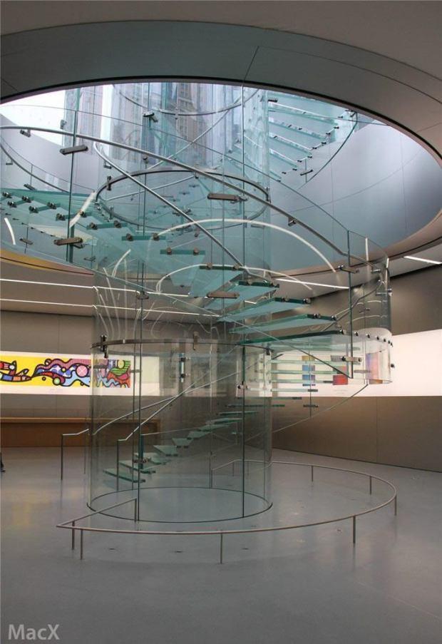 AppleStore1 620x903 Apple ha svelato il nuovo Apple Store di Chongqing