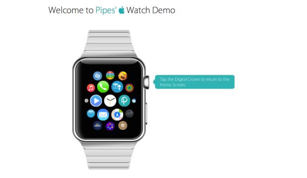 AppleWatchDemo 620x359 Un mock up interattivo online che permette agli utenti di provare il nuovo Apple Watch