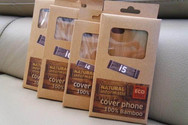 Eco Store 620x413 Eco Store: una collezione di cover per iPhone in 100% Bamboo