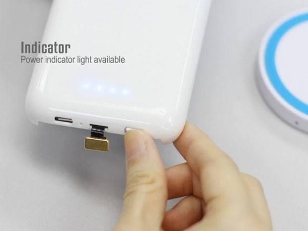 Foto 17 12 14 21 41 57 Cover case con batteria integrata e ricarica wireless per iPhone 6