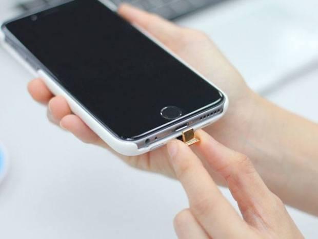 Foto 17 12 14 21 42 00 Cover case con batteria integrata e ricarica wireless per iPhone 6