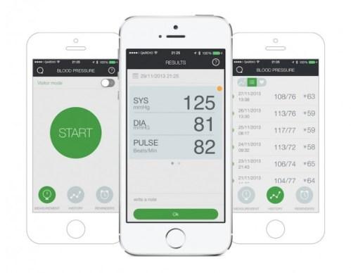 Iphone image 620x482 Recensione: QardioArm, per tenere sempre sotto controlla la pressione arteriosa