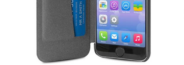 Schermata 2015 01 06 alle 15.52.44 620x219 Puro Booklet Crystal, una pratica custodia a libro per iPhone 6 e iPhone 6 Plus