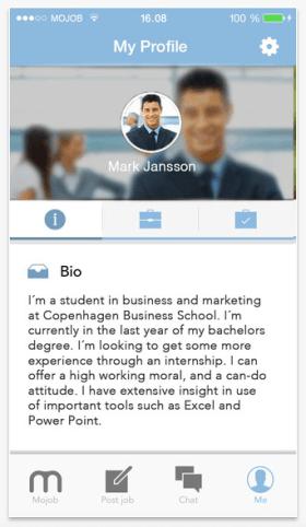 Schermata 2015 01 24 alle 11.27.41 Mojob, un free mobile job market