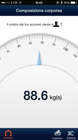 iHealthApp 620x1102 iHealth Wireless Body Analysis Scale, bilancia smart per tutti