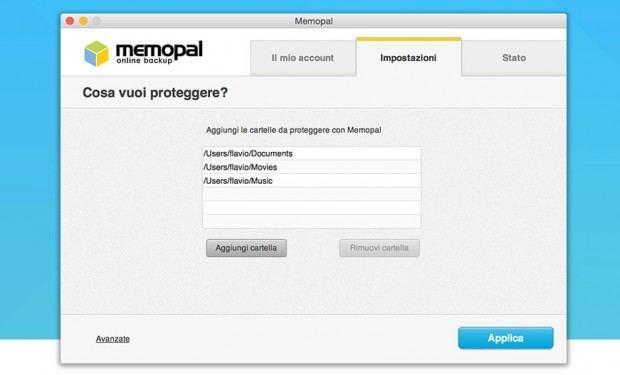memoipal 2 620x375 Nuovo Memopal Online Backup