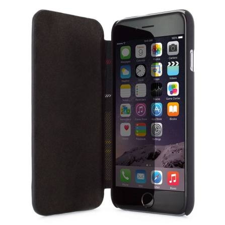 23850 barbour leather style folio case black apple iphone 6 04 620x620 Recensione: Barbour, le cover per iPhone in British style