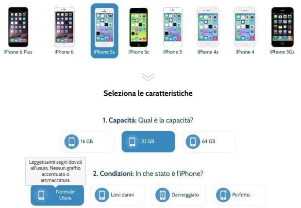 trendevice schermata TrenDevice corre. Ritirati 15.000 iDevice Apple usati