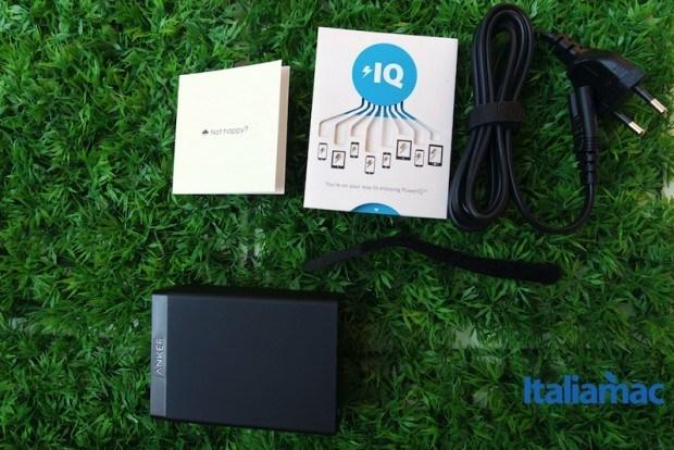 anker alimentatore 6 porte usb9 620x414 Anker, alimentatore a 6 porte USB da parete con Tecnologia PowerIQ