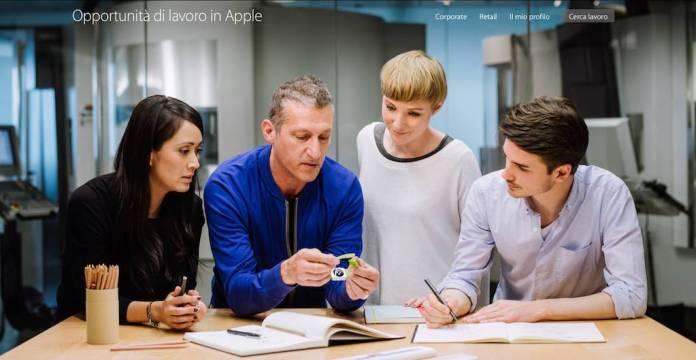 apple 7 Apple cerca dipendenti: in Italia