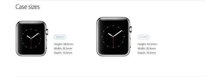 applewatch41 Le misure dellApple Watch, come scegliere quello adatto per il proprio polso
