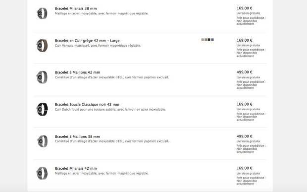 applewatchconfigurazioni2 Apple Watch in tutte le sue configurazioni