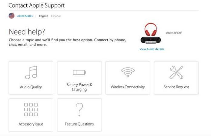 Beats Apple Care