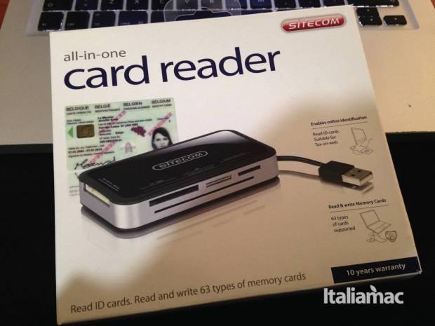 card reader confezione