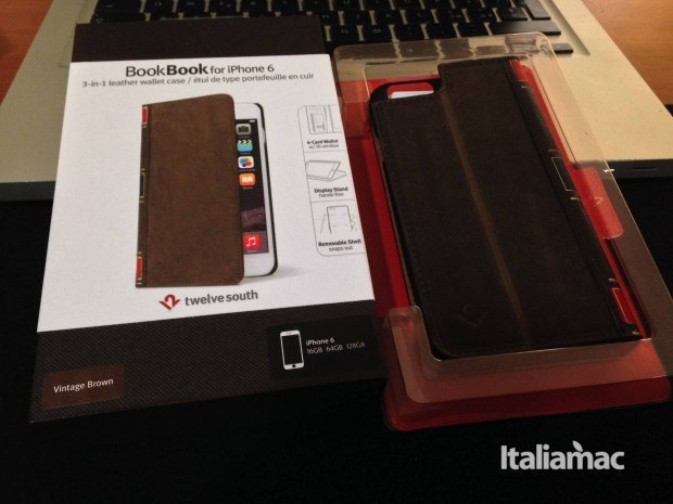confezione bookbook aperta 620x465 BookBook per iPhone 6, test della cover in stile libro depoca