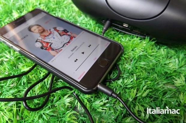 easy acc olive13 EasyAcc Olive, provato per voi lo speaker Bluetooth anche da USB