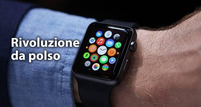 interazione Apple Watch