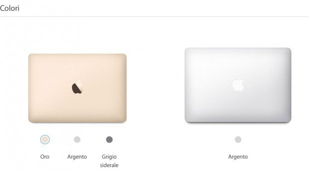macbook vs macbookpro 04 620x348 Confrontiamo le caratteristiche del nuovo MacBook con il MacBook Pro 13
