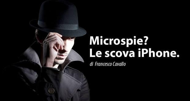 Microspie iPhone App