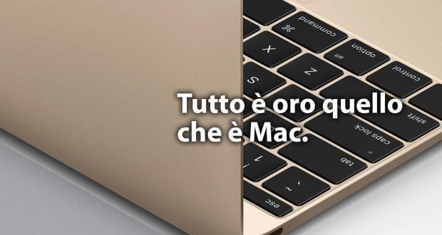 nuovo macbook oro 2015