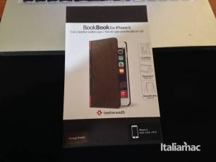 %name BookBook per iPhone 6, test della cover in stile libro depoca